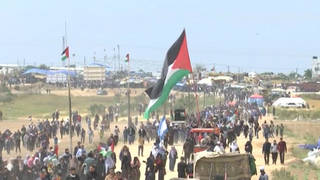Seg gaza march