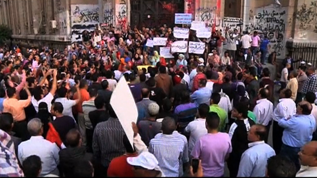 Egypt protest 1