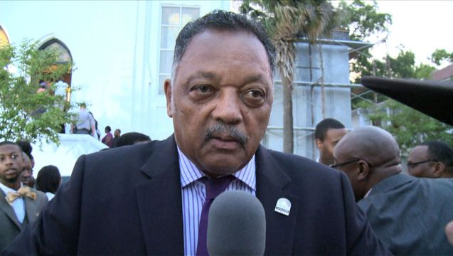 Jesse jackson south carolina chleston church massacre funeral 1