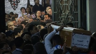 S02 egypt coptic church funeral