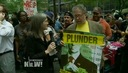 Independent Media Stalwarts Katrina vanden Heuvel & Danny Schechter Speak Out at Occupy Wall Street