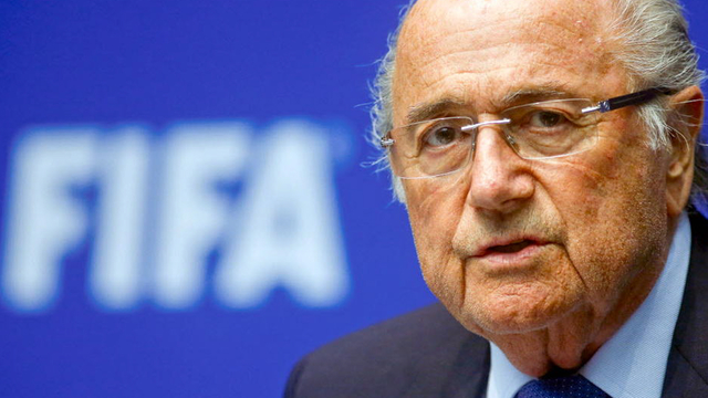 Fifa corruption soccer sepp blatter resigns 1