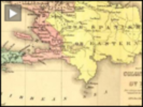 Haiti colonial map