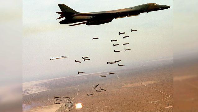 B1 b cluster bombs ok