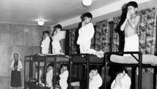 aboriginal residential schooling The canadian government developed indian residential schools in the 1800s to assimilate aboriginal peoples and, according to canada's first prime minister, john a.