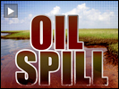 Oil spill graphic
