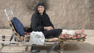 S4 mosul injured woman