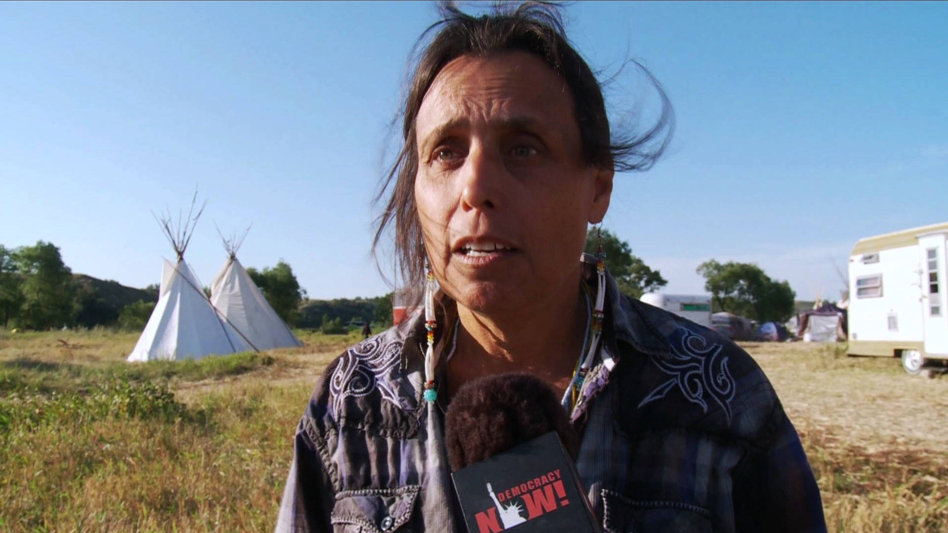 Technology Management Image: Native American Activist Winona LaDuke At Standing Rock