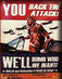 <i>You Back the Attack, We'll Bomb Who We Want!</i> - A Collection of Remixed War Posters