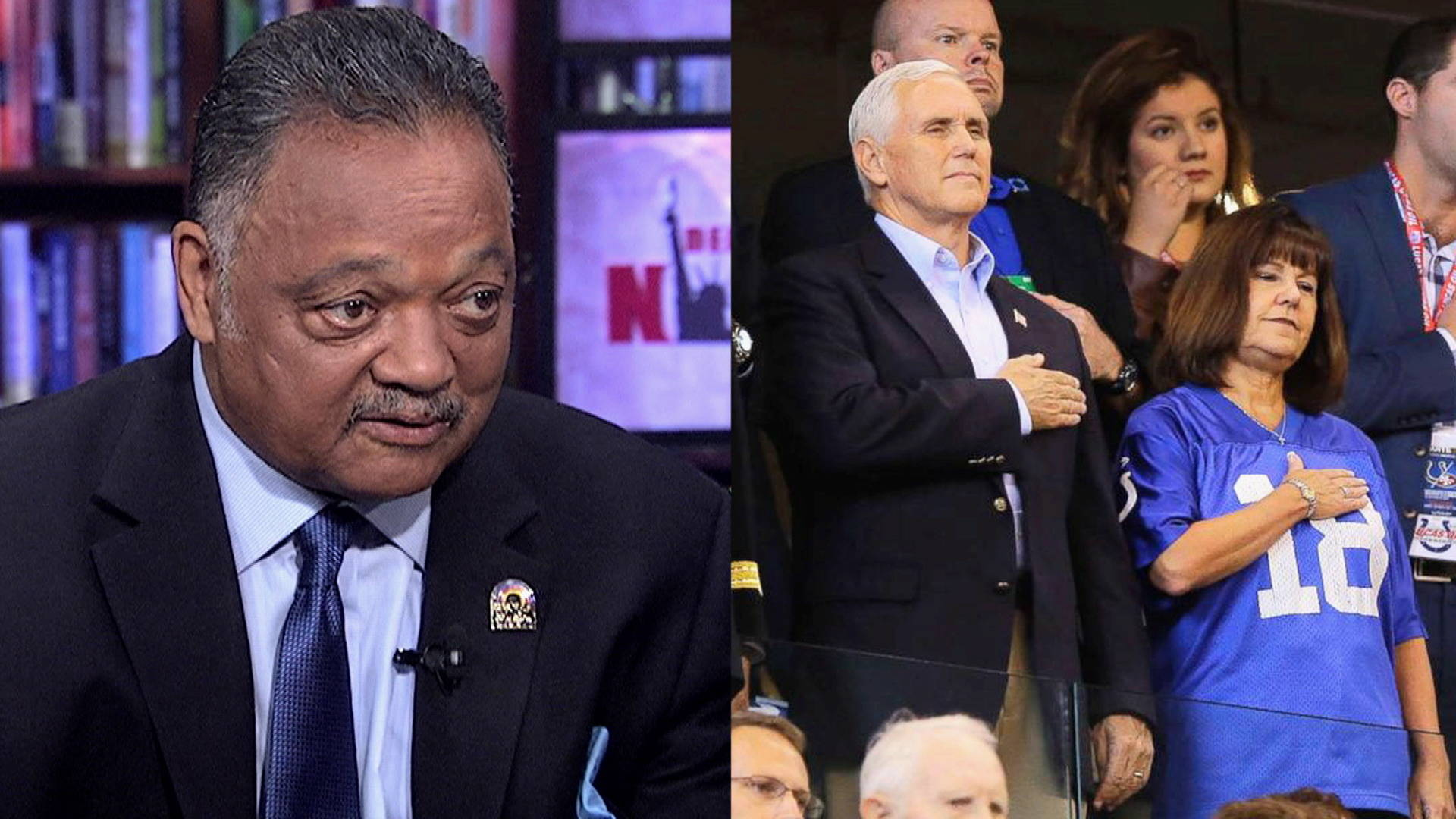"Rev. Jesse Jackson: Colin Kaepernick is a ""Martyr"" & Deserves the Right to Play Football"