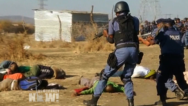 Lonmin massacre south africa