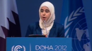 """Your Governments Have Failed You"": Syrian-American Student Munira Sibai Calls For Climate Justice"