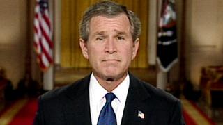Bush iraq ultimatum