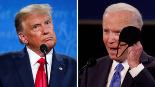 Seg1 trump biden debate split