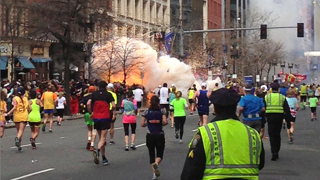 Boston marathon explosion 1
