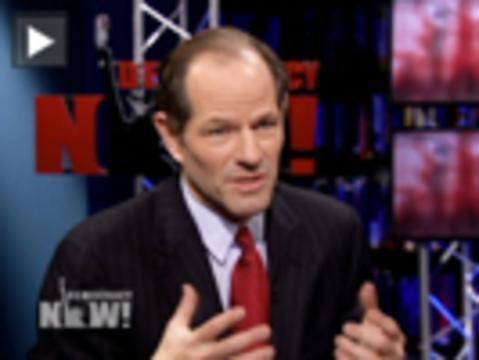 Spitzer democracynow
