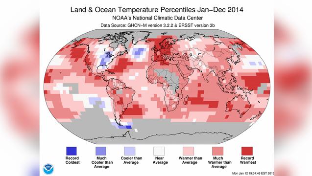 Global warming temperature map noaa lifton 1