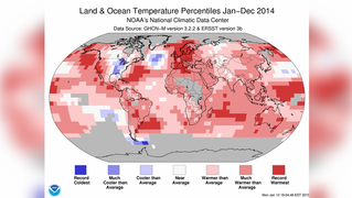 Global warming temperature map noaa lifton 1