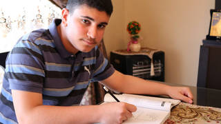 S3 ismail ajjawi harvard student unrwa