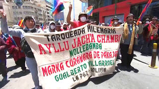 Seg1 bolivia indigenous march 2