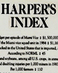25 Years of the Harper's Index