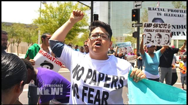 Arpaio protest