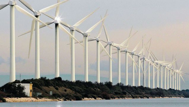 Renewable energy water global warming wind turbines 1