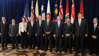 Trans pacific partnership tpp world leaders