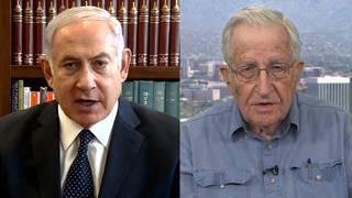 Chomsky netanyahu