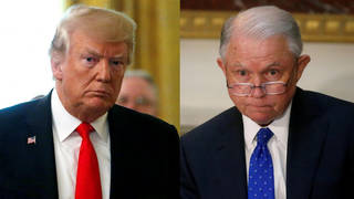 Seg trump sessions split