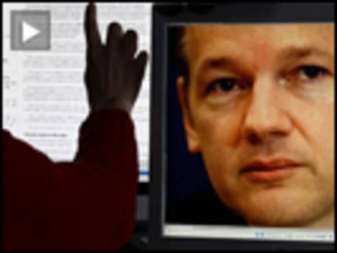 Assange screen