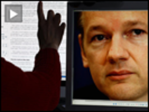 Assange screen