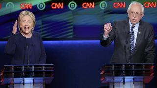 Clintonsanders flint