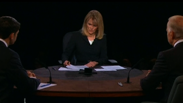 Debate martha raddatz