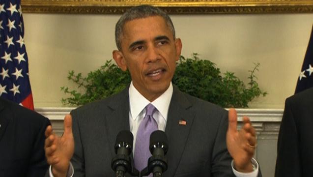 Obama military authorization iraq