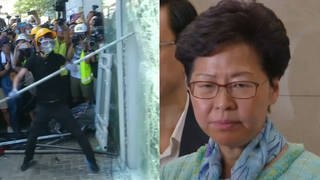 S1 hong kong protester carrie lam