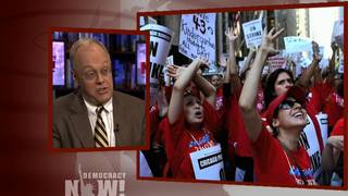 Chris hedges teacher strike