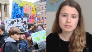 Seg climate strike split