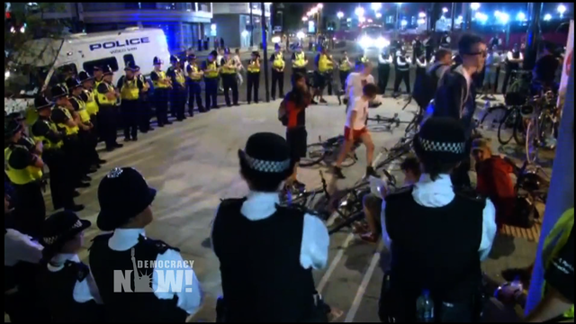 Bike protest