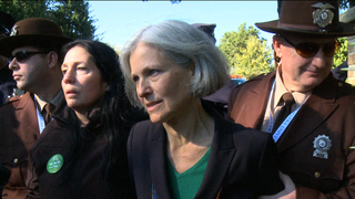 Jill stein arrest hofstra university