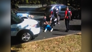 S3 keith scott wife cellphone video