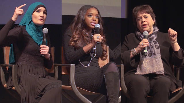 S2 womens march panel