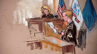 Manning in court
