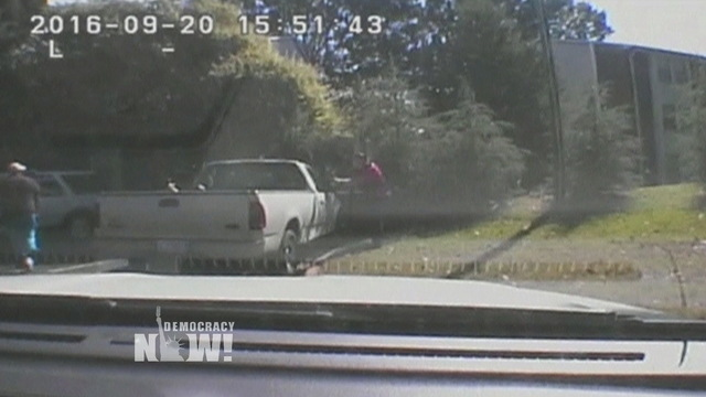 S1 charlotte police dash cam released