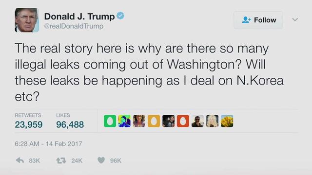 S2 trump leak tweet