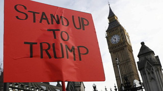 S5 london protest trump