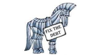 Trojan debt horse