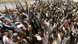 Yemen houthi fighters 2