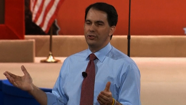 Walker wisconsin cpac isis union