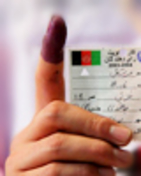 Afghan vote web